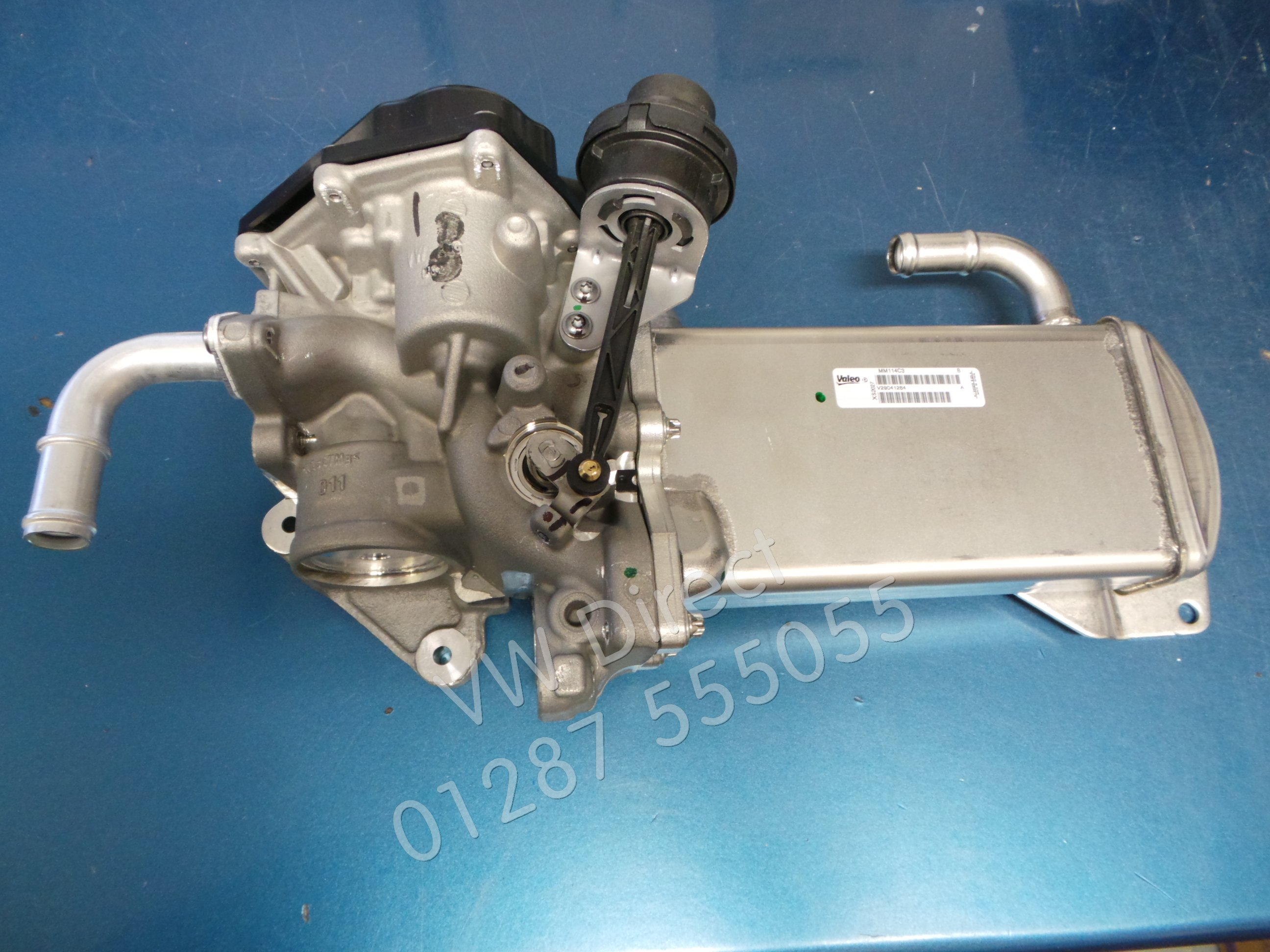 Details about Genuine VW Transporter Caravelle T5 T6 EGR Exhaust  Recirculation Valve & Cooler